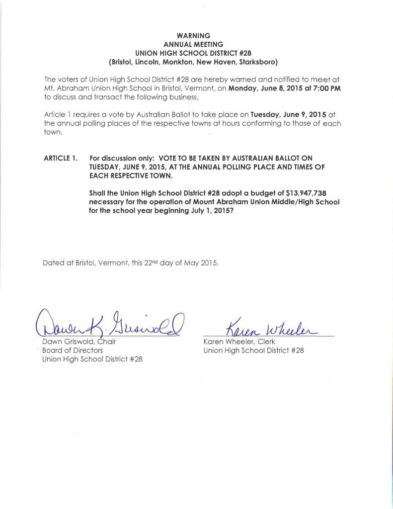 ANESU revote Warning 06-08-2015 Meeting